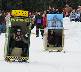 The Sapphire Outhouse Race